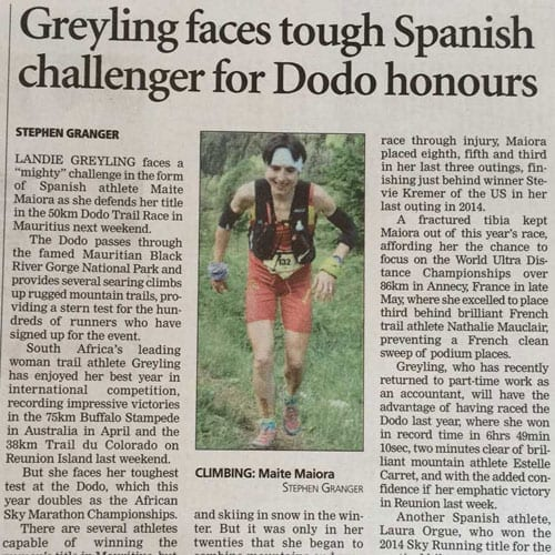 Greyling faces tough Spanish challenger